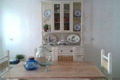 Muebles de cocina pintados