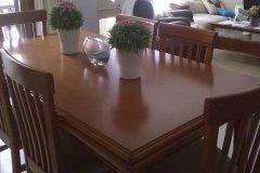 Mesa y sillas de comedor para pintar