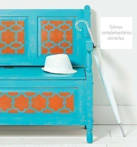 mueble colores complementarios circulo cromatico chalk paint autentico online