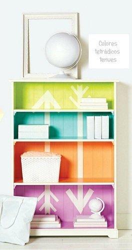 mueble colores tetradicos circulo cromatico chalk paint autentico online