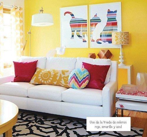 habitacion decoracion colores primarios circulo cromatico chalk paint autentico online