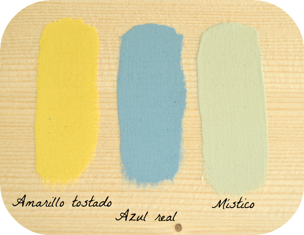 amarillo azul mistico chalk paint autentico