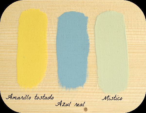 amarillo azul mistico chalk paint autentico