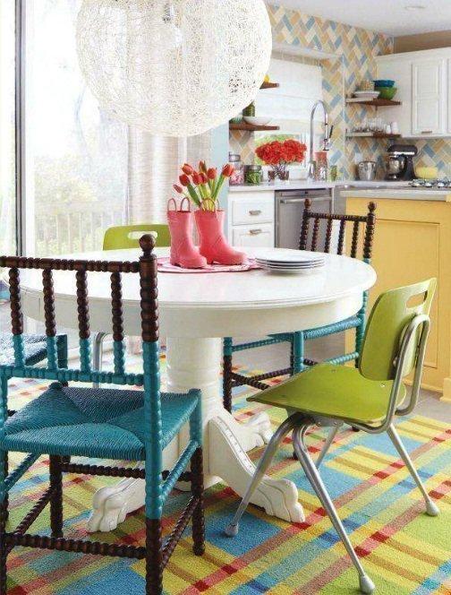 habitacion amarillo azul vere