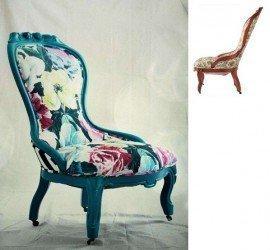 pintar sillones antiguos