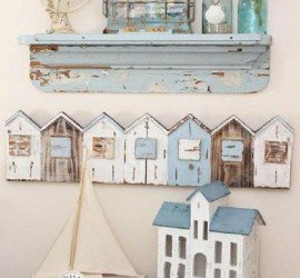 estanteria decoracion shabby chic