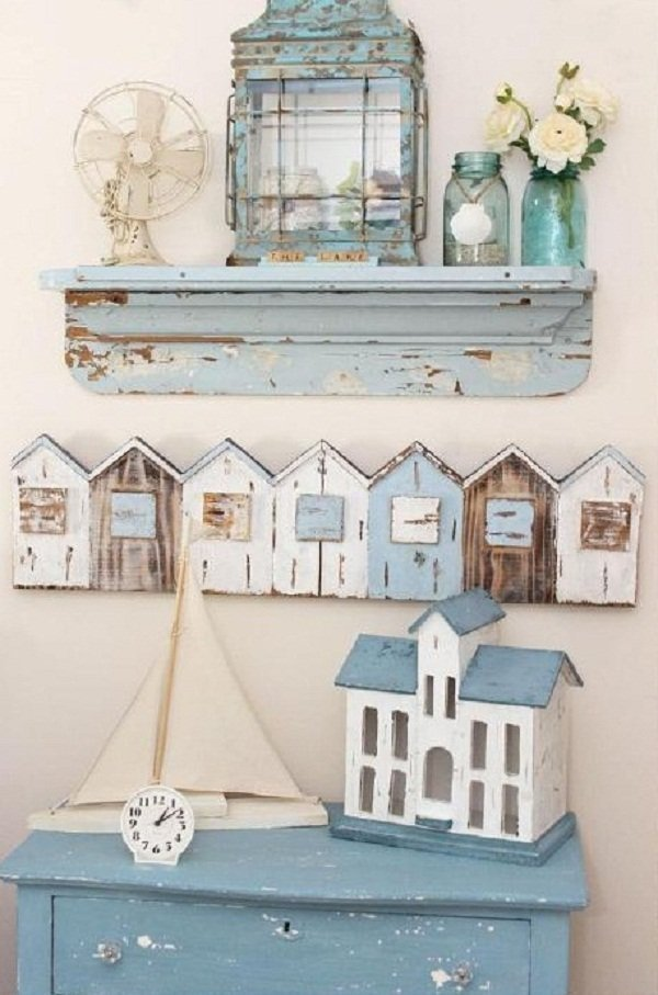 Decoraci n shabby chic - Objetos de decoracion vintage ...