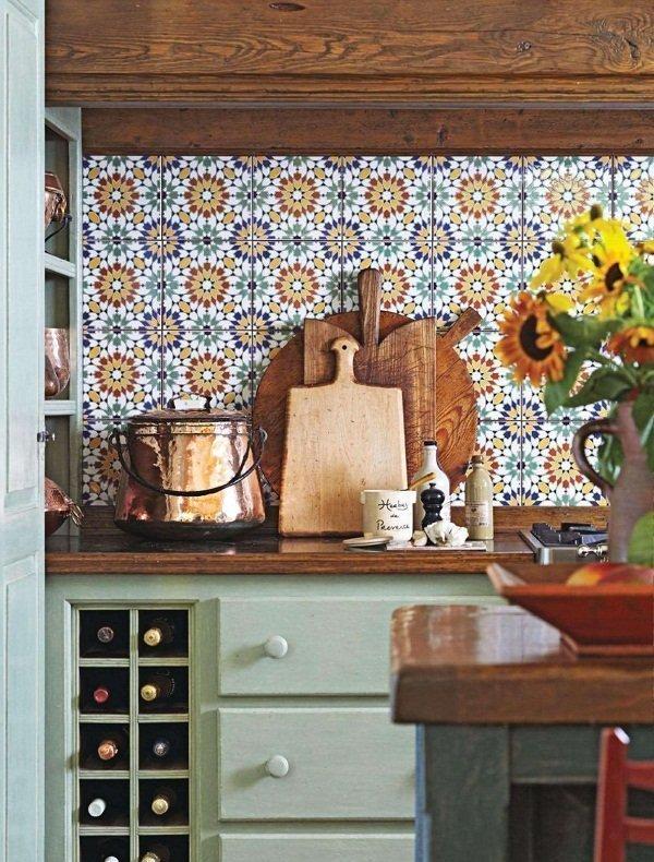 Country style y chalk paint - Muebles de cocina estilo retro ...