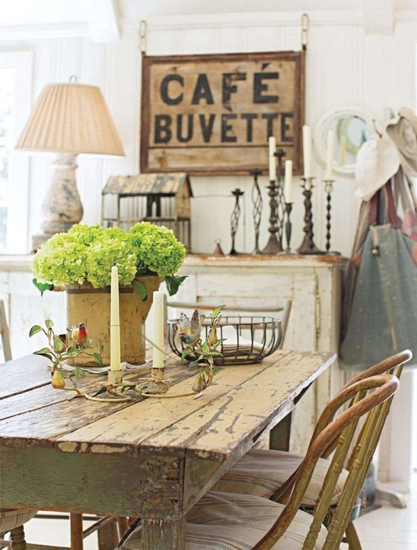 Country style y chalk paint - Estilo country chic ...