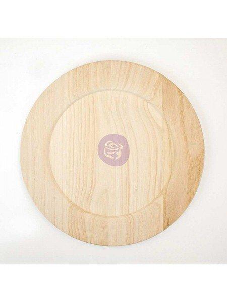 Plato de madera 10'