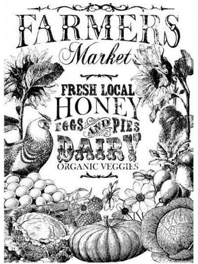 Farmer's Market - Pintable